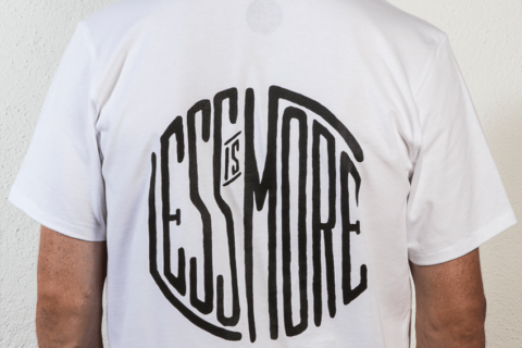 we are zrcl Less is more T-Shirt von jonattend jonathan monnay