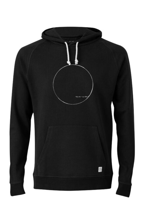 Men Hoodie WE ARE black