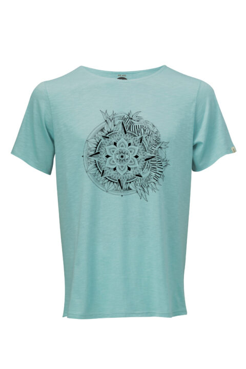 Men T-Shirt Eye teal Iuna Tinta Corinne Weidmann