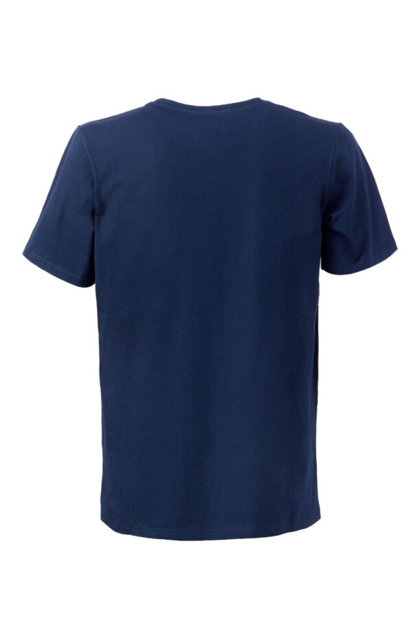 Men T-Shirt Pocket blue