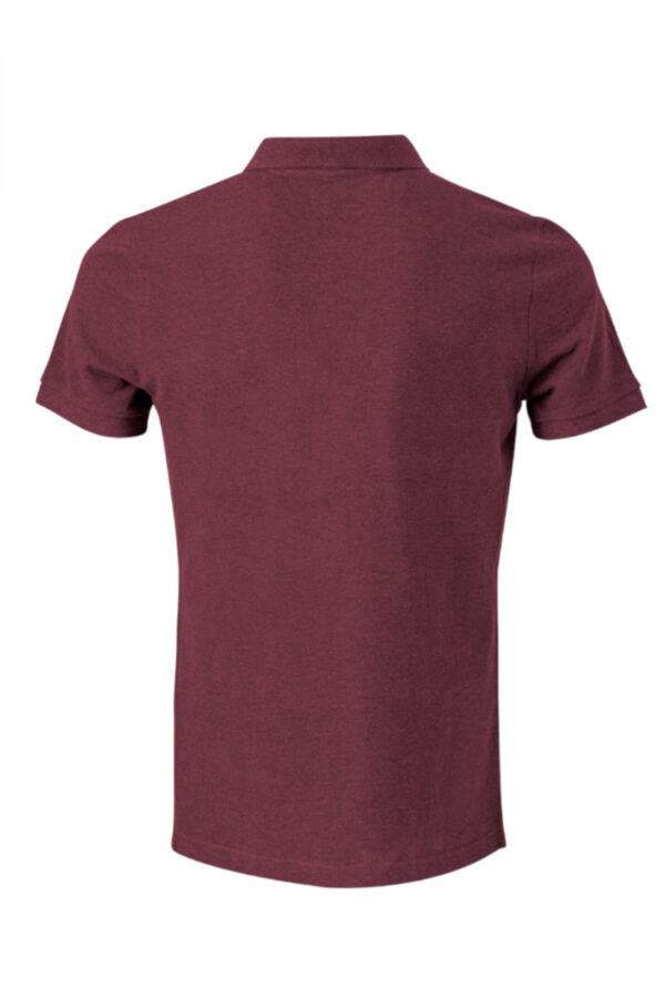 Men basic T-Shirt dark wine