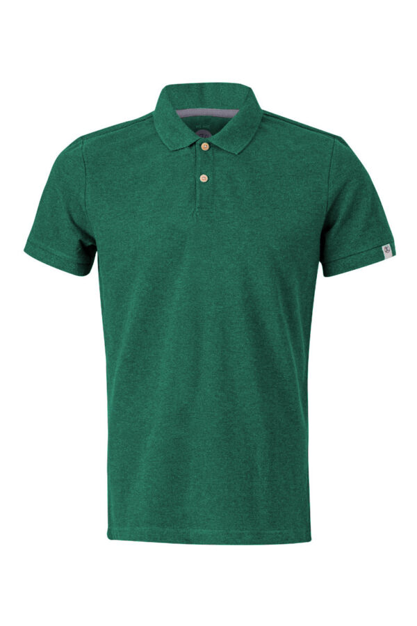 Men basic Polo green