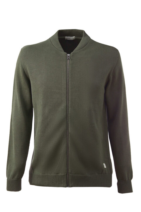 Men Bowler Jacket olive