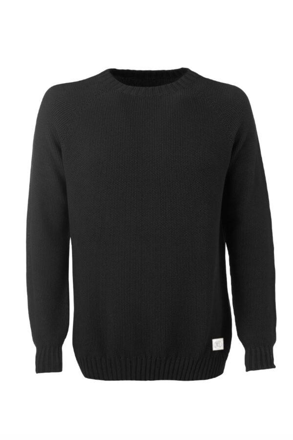 Men Sweater Melk black Swiss Edition