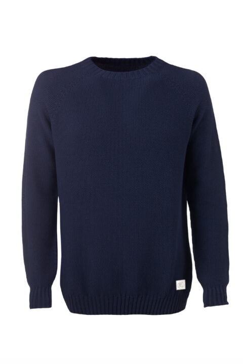 Men Sweater Melk blue Swiss Edition