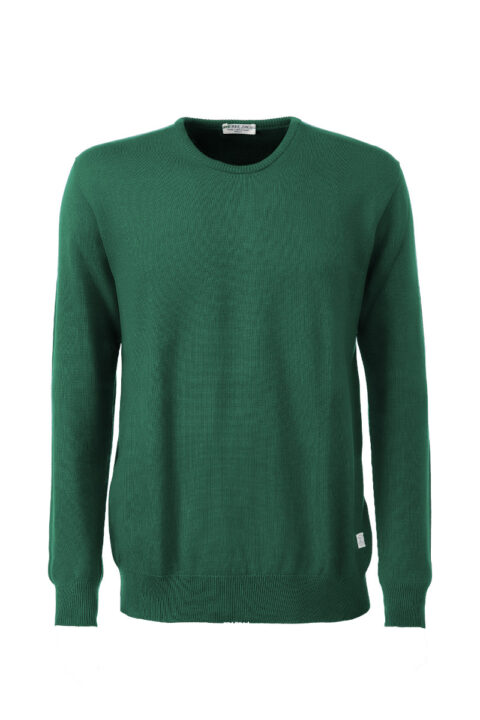 Men Sweater Swiss Edition green