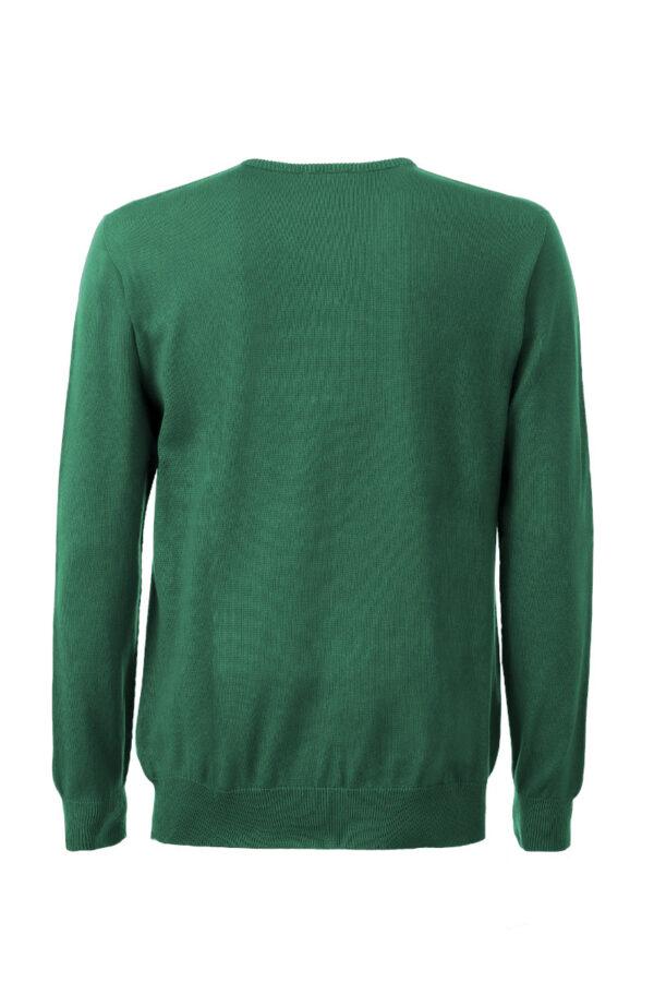 Men Sweater Swiss Edition green