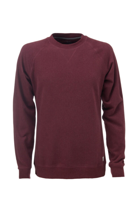 Men basic Sweater dark wine