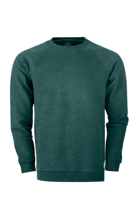 Men Sweater Basic Green Stone