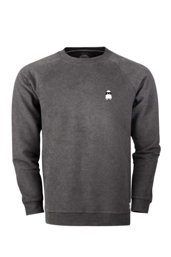 Men Sweater Ghost onyx