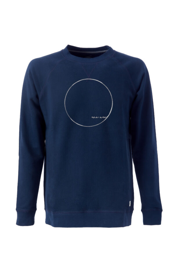 Men Sweater WE ARE blue