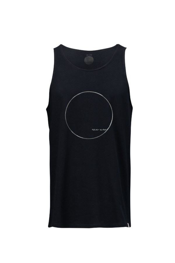Men Tanktop we are black