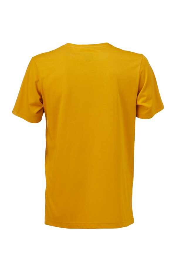 Men basic T-Shirt amber