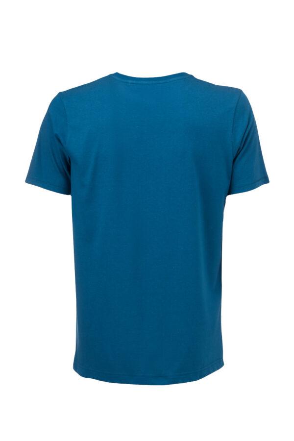 Men basic T-Shirt petrol