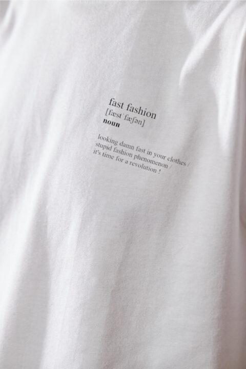 Men Fast Fashion T-Shirt white