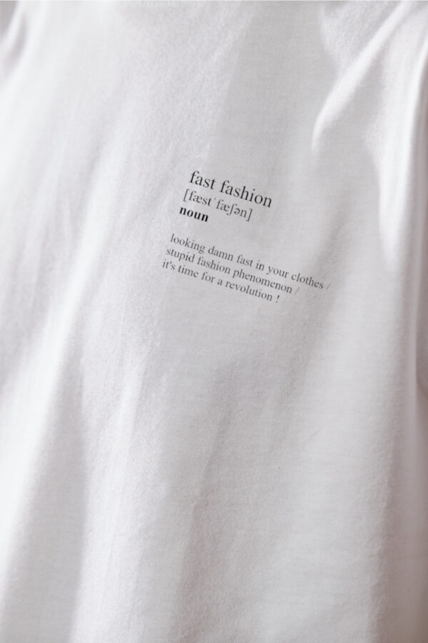 Men Fast Fashion T-Shirt white