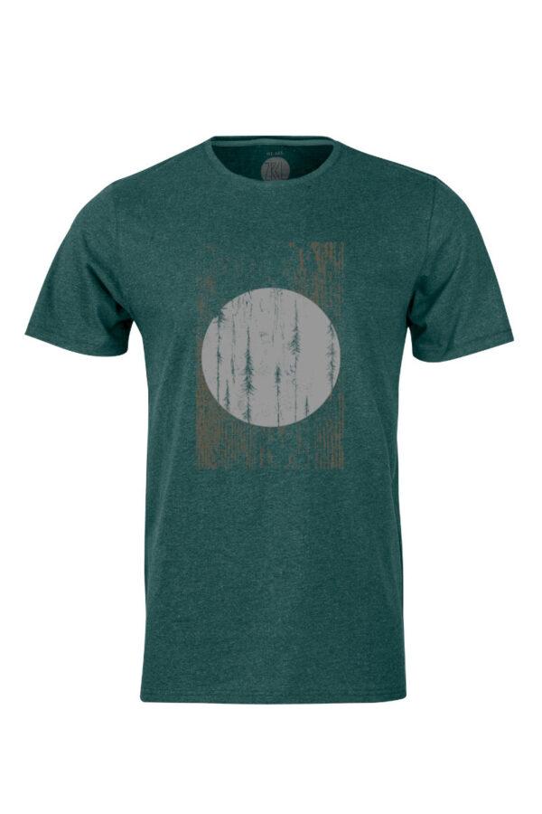 Men T-Shirt Forest by Oliver Lenzlinger