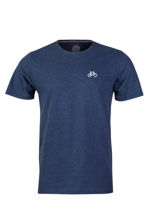 Men Velo T-Shirt blue stone