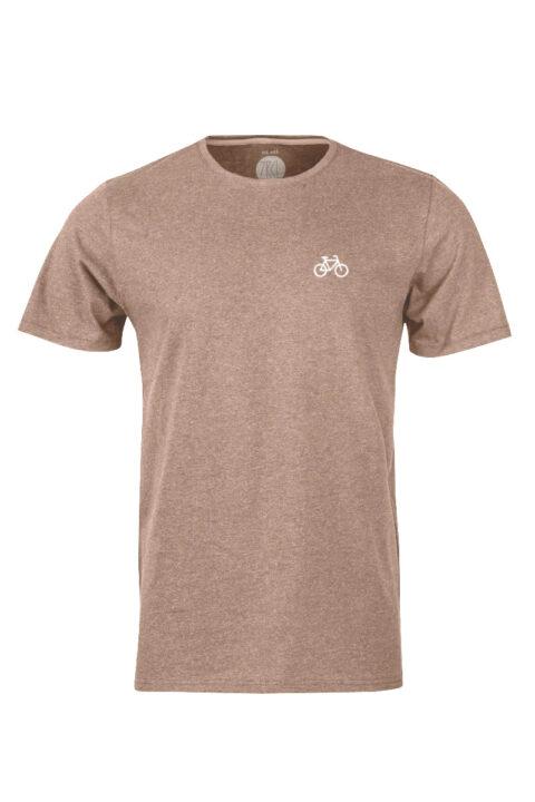 Men Velo T-Shirt brown mel.
