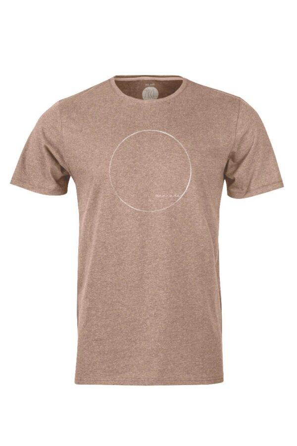 Men WE ARE T-Shirt brown mel.