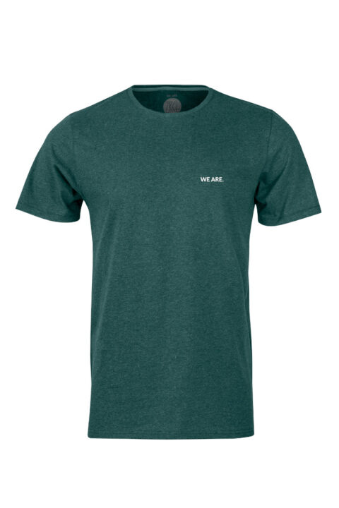 Men T-Shirt WE ARE 2.0 green stone