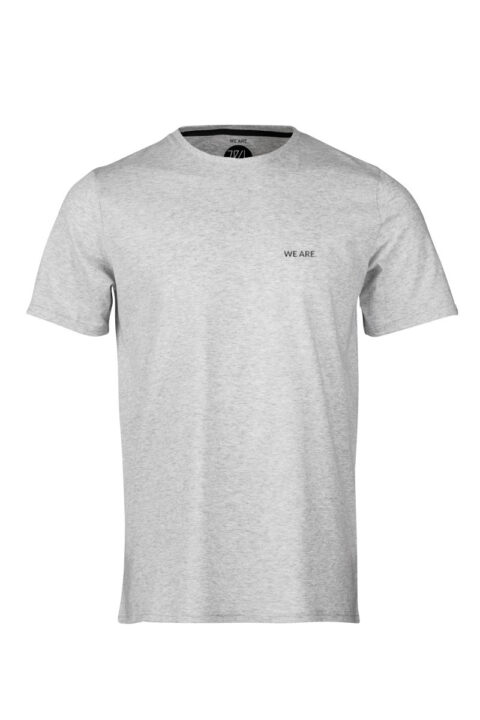 Men T-Shirt WE ARE 2.0 silver shine