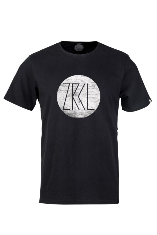 Men T-Shirt Logo Wood black