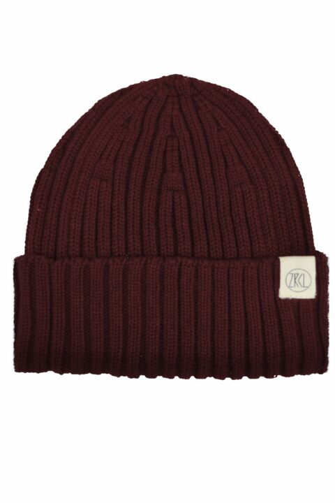 Beanie Snugly dark wine Swiss Edition
