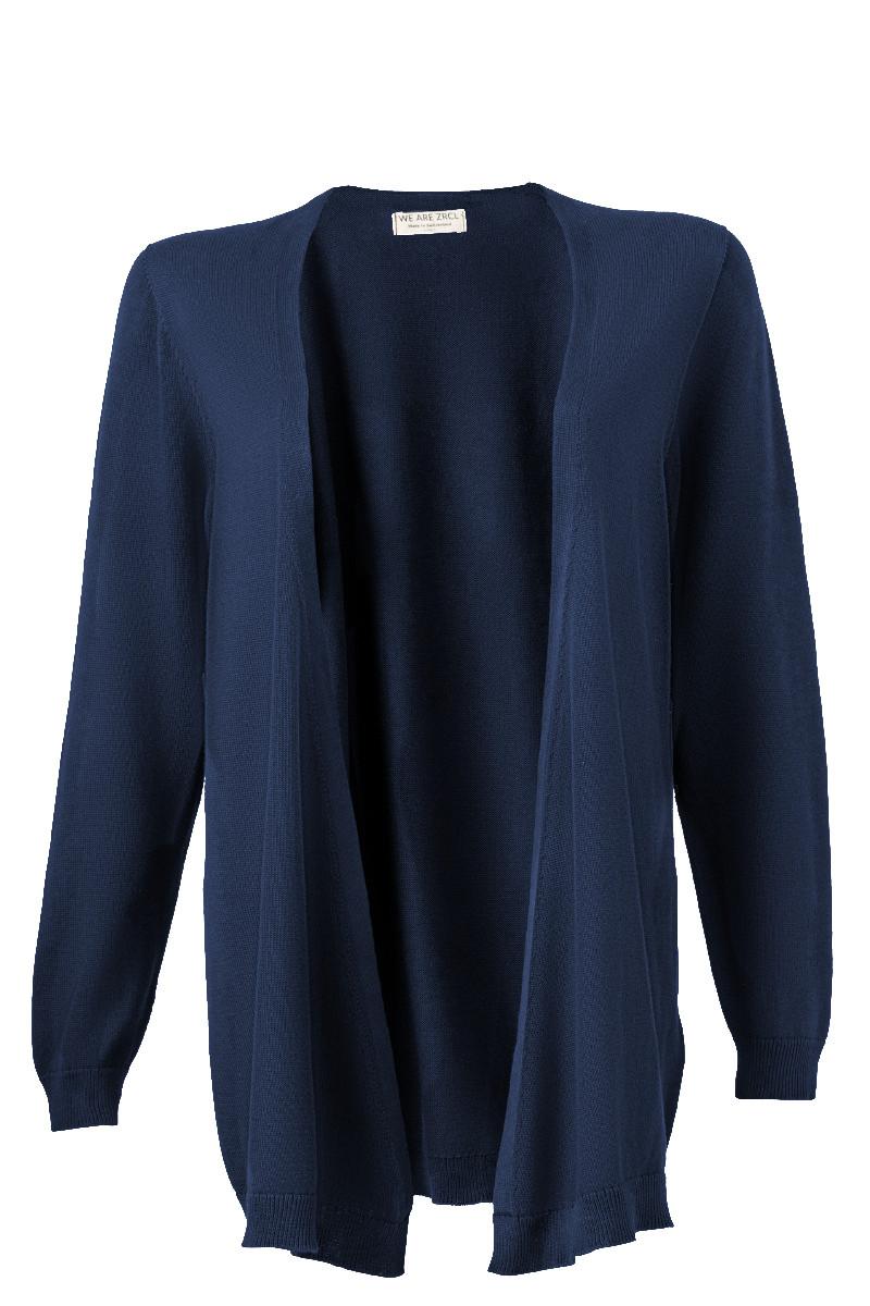 Women Cardigan blue Swiss Edition