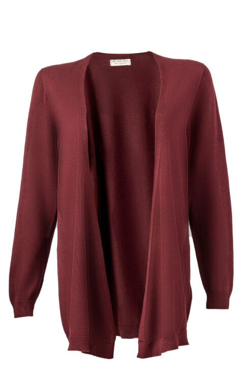 Women Swiss Edition Cardigan bordeaux