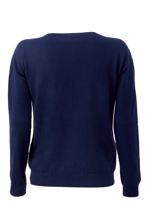 Women Sweater blue Swiss Edition