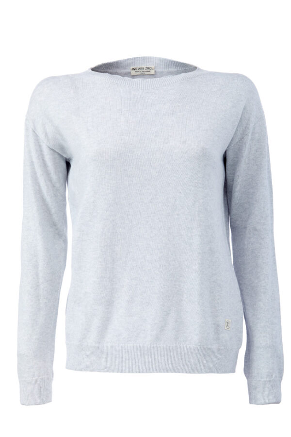 Women Sweater silver shine Swiss Edition