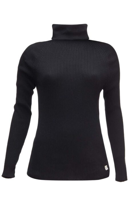 Damen Turtleneck black
