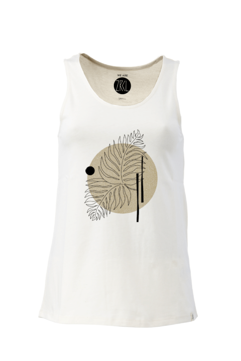 Women Tanktop farn natural