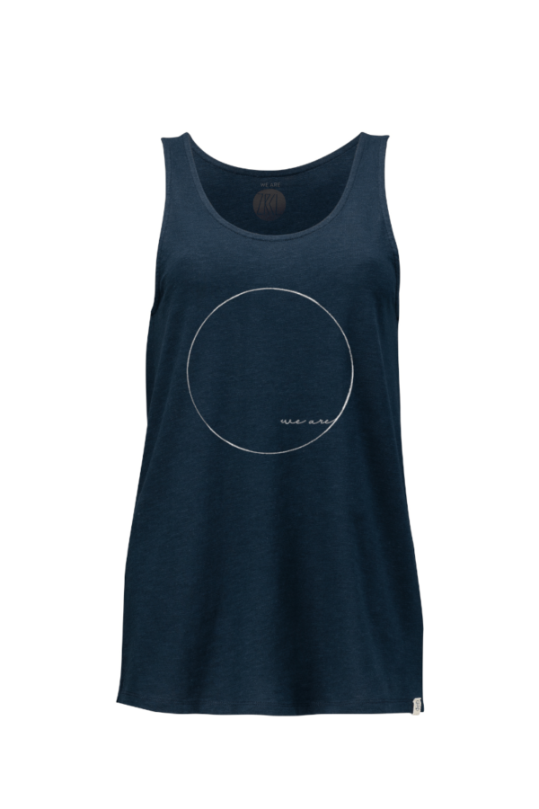 Damen Tanktop blue we are