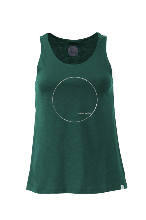 Women Tanktop WE ARE green