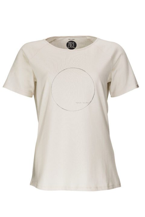 Women T-Shirt we are natural