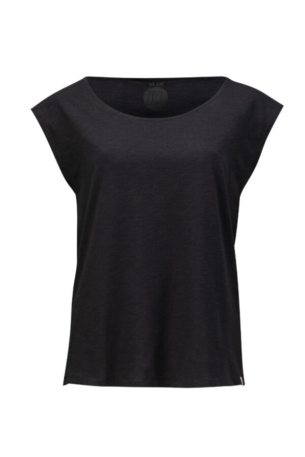Women Two Shirt black