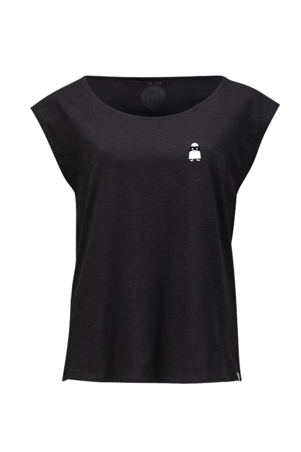 Women Two Shirt Ghost black