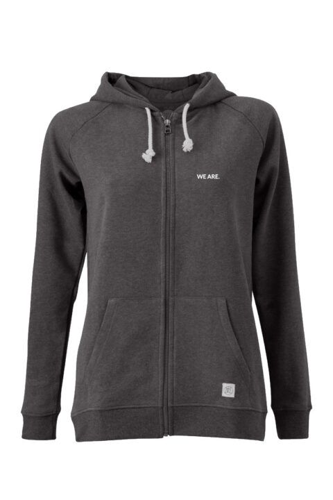 Women Zip Hoodie we are 2.0 onyx